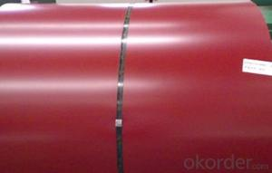 Prepainted Galvanized steel Coil With Red Blue