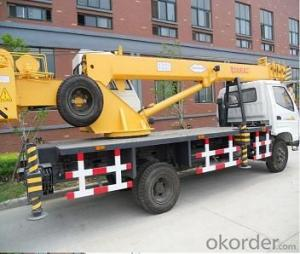 Rough Terrain Crane Wheel Truck Crane Mobile Cranes with 5 Section Telescopic Boom ISO9001