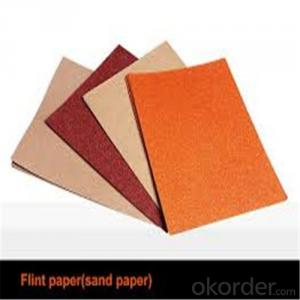 Abrasives Sanding Paper for the Wall and Wood Surface