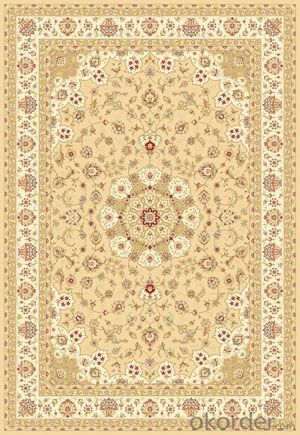 Viscose Wilton Carpet and Rug with Custom Design 2M X 2.9M