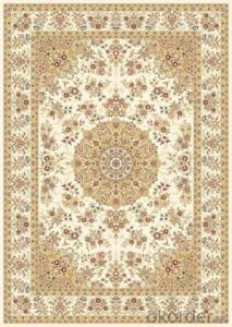 Viscose Carpet and Rug with Customed Size and Design