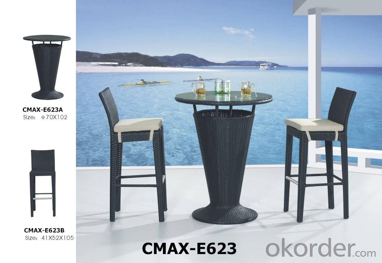 Rattan Bar sets for Outdoor Furnitue CMAX-A627