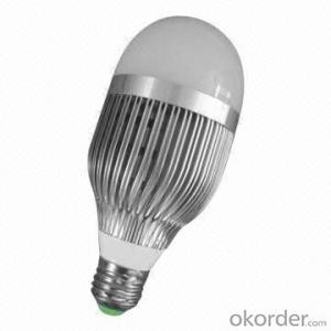 LED Bulb Light Waterproof 9W, 850Lm, CRI80,