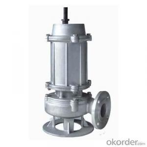 Stainless Steel Casting Sewage Submersible Electric Water pump