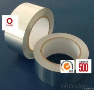 Aluminum Foil Tape Synthetic Rubber Based 30Micron