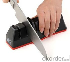 Kitchen Knife Sharpener 2 Stages ABS Base