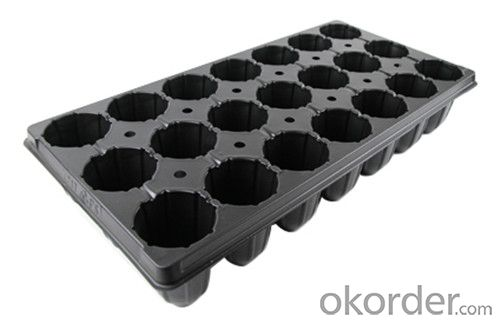 Plastic Seed Tray Plug Tray for Green House PVC