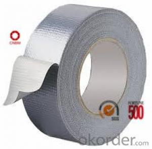 Cloth Tape Polyethy cloth Hot Melt Adhesive 70 Mesh Silver Color