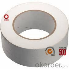 Cloth Tape Polyethy cloth Hot Melt Adhesive White Color