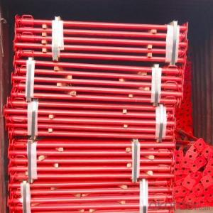 Shoring Props System Scaffolding Q345 Hot Dip Galvanized or Powder Coated