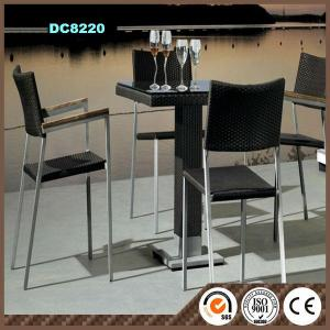 Aluminum Frame Rattan Garden Furniture DC8210