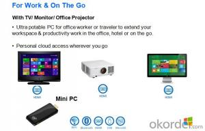 intel Mini PC-Stick Quad Core 2015 Brand New Product