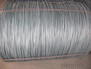 Hot rolled steel wire rod 5.5mm-14mm SAE1006-1018B
