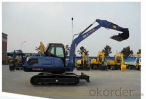 Crawler Excavator 8ton with Korea hydraulic parts