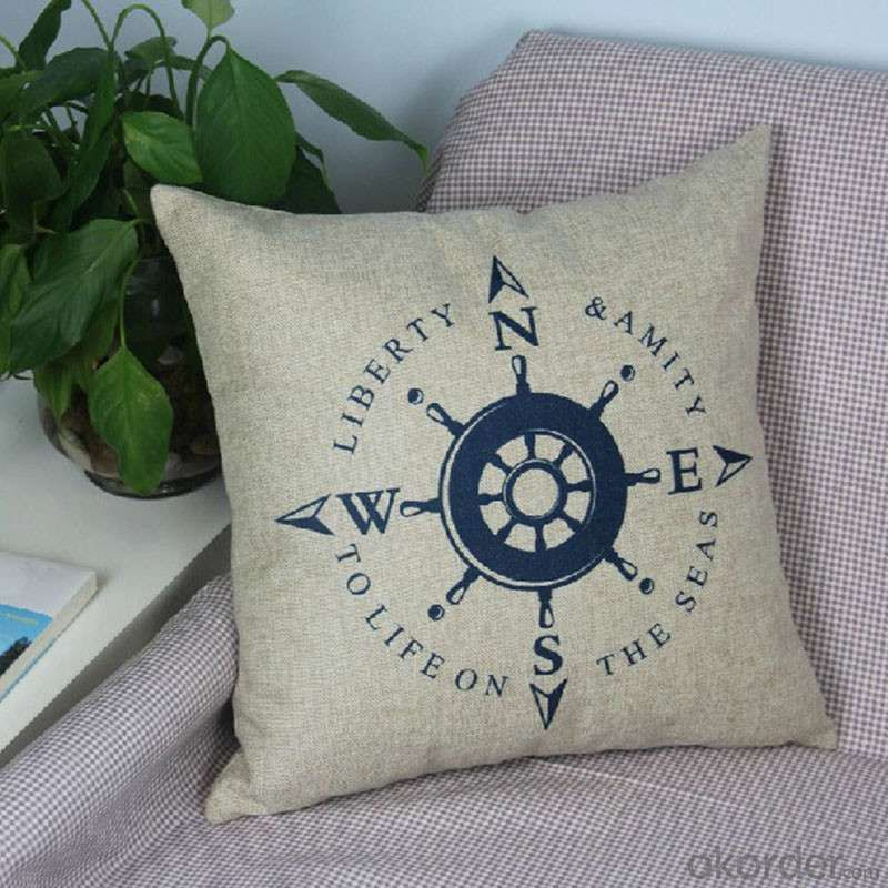 Cartoon Home Cushion with Removable Cover