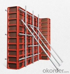 concrete wall formwork system for construction