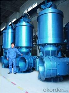 Vertical Submersible Axial Flow / Mixed Flow Sewage Pump
