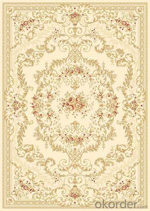 Viscose Carpet and Rug Wilton  Woven Floor Carpet Tile