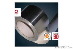 Aluminum Foil Tape Synthetic Rubber Based 25Micron High Quality