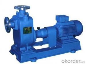 ZW Sewage Pump with Solid 10mm/Self-Suction Pump