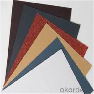 Waterpoof Abrasives Paper for Constructions and Machine