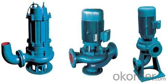 QW Heavy Multistage Centrifugal Submersible Sewage Pump