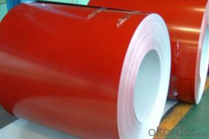 Prepainted Galvanized steel Coil with different color
