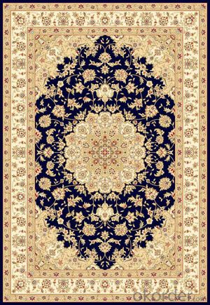 Viscose Wilton Carpet and Rug Black Color Rectangle Shape Hot Sale
