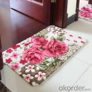plastic carpet through Hand Make with Modern Design