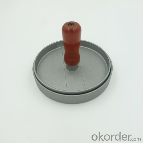 Die Cast Aluminum Single Hamburger Press