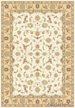 Viscose Carpet and Rug Modern Design Rectangle Shape