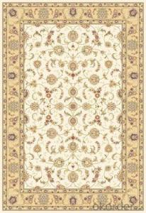 Viscose Carpet and Rug Modern Design Rectangle Shape