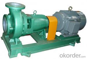 IHF Horizontal PTFE Inline Centrifugal Pump, Acid Transfer Pump