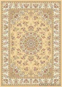 Viscose Carpet and Rug Rectangle Shape Hot Sale