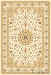 Viscose Wilton Carpet and Rug Dark Color with Custom Design