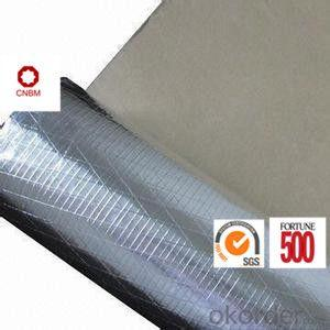 Aluminum Foil Tape Synthetic Rubber Based Aging Resistance