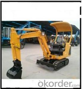 7 ton Hydraulic hammer mini excavator with air conditioning