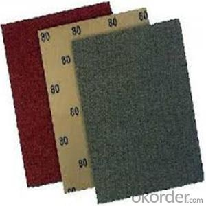 Waterproof Abrasives Sanding Paper for Building and Machine