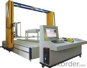 CNC Foam Two Demensional Horizontal Line Cutting Machine