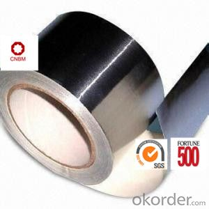 Aluminum Foil Tape Synthetic Rubber Based Good Temperature Resistance