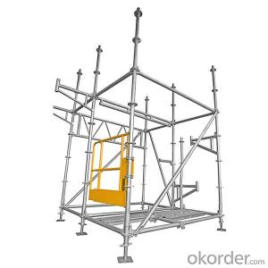 Ringlock Scaffolding Hot dip galvanized construction material
