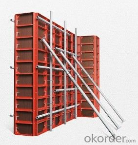 Concrete plywood formwork system Concrete plywood formwork system