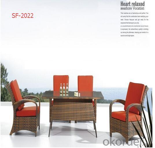 PE Rattan Cheap Dark Brown Rattan Chairs Outdoor Furniture HS-10355C