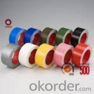 Cloth Tape Synthetic Rubber Adhesive 70Micron Resistance to againg