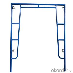 Walkthrough Frame System Scaffolding  Steel Surface Treatment