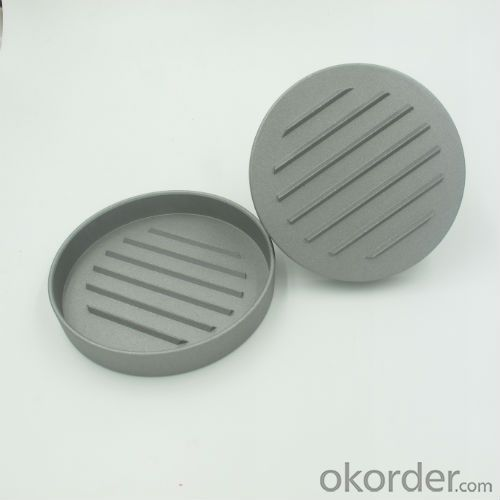 BBQ Grilling Single Die Casting Aluminum Beef Hamburger Press