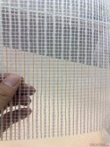 Fiberglass  Mesh High Quality 195g/m2 4*4mm
