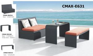 Outdoor Furniture Bar Sets with Armless Chair CMAX-E671