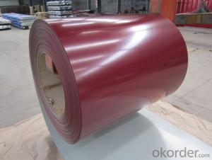 Color Perpainted Galvanized Steel in Coil
