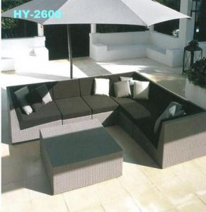 Outdoor Garden Furniture Rattan Sofa Furniture  SF2028
